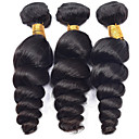 Buy Vinsteen 3 Pcs/Lot 8-30 Inch Brazilian Virgin Hair Natural Color Loose Wave Human Extensions