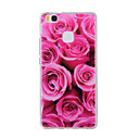 Buy Huawei Y635 4C 4X 5C 5X P8 P9 P8Lite P9Lite Honor8 Honor7 Honor6 Case Cover Red Rose Pattern TPU Material Phone