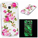 Buy Samsung Galaxy 7 (2016) J7 J5 Cover Case Glow Dark IMD Pattern Back Flower Soft TPU J3 Grand Prime