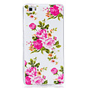 Buy Glow Dark IMD Pattern Case Back Cover Flower Soft TPU Huawei P9 Lite P8