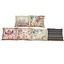 Buy Set 6 Bohemian style pattern Linen Pillowcase Sofa Home Decor Cushion Cover
