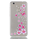 Buy Huawei P8 Lite (2017) P9 Phone Case TPU Material Butterfly Flowers Pattern Relief