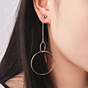 Buy Women's Drop Earrings Jewelry Circular Alloy Circle Party Special Occasion Anniversary Birthday Congratulations Graduation