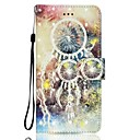 Buy Case Huawei P10 LITE Phone 3D Effect Dream Catcher Pattern PU Material Wallet Section P9 P8 2017