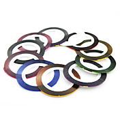 PC 1 rueda línea cinta cintas decoración de uñas etiqueta engomada (11 colores a elegir)