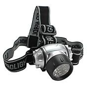 LED손전등 / 헤드램프 LED 4.0 모드 루멘 기타 AAA 기타 , 실버 플라스틱