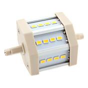 R7s 6w 12x5630 SMD 560-600lm 3000-3500K ciepły biały Żarówka LED światło kukurydzy (85-265V)