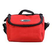 Poliéster Ripstop acolchado suave protector Bolsa de transporte para cámara de gran tamaño Digital - Red