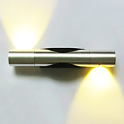 AC 110-130 AC 220-240 2 집적 LED 모던/콘템포라리 일렉트로플레이티드 특색 for LED 미니 스타일 전구 포함,주변 라이트 벽 빛