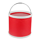 9 litros Cubo de agua plegable (Red)