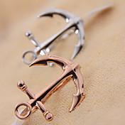 Anchor forma de anillo doble (color al azar)