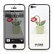 """다 코드 ™ iPhone 4/4S를위한 피부 : """"포텐 꽃""""(크리 에이 티브 시리즈)"""