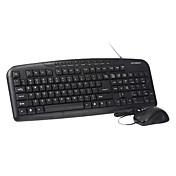 hyundai MA61 usb ergonomía cableadas diseño de teclado ratón óptico