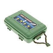 보호 플라스틱 충격 방지 플래쉬 케이스 - 육군 녹색