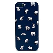 iPhone 7 Plus Indian Elephants Pattern Hard Case for iPhone 5/5S