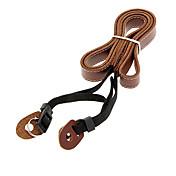 일안 레 플렉스 카메라 전문 Genuiue 가죽 어깨 끈 (검정, 커피)