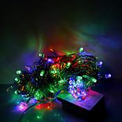 10m 100 LED가 크리스마스 할로윈 장식 조명 축제 스트립 조명 - 일반 문자열 조명 RGB (220V)