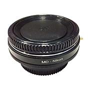 D7100의 D7000의 D5300 d5200의 d3300 d3200의 D90의 D80 니콘 어댑터 newyi MD-니콘 광학 유리 미놀타 MD 렌즈