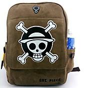 가방 에서 영감을 받다 One Piece 코스프레 에니메이션 코스프레 악세서리 가방 / 배낭 브라운 캔버스 / 나일론 남성