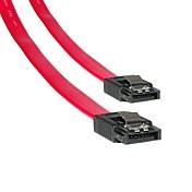 3.2ft nuevo conector del cable de datos de la unidad HD 1m rojo placa base SATA de serie del disco duro