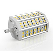 R7S 10w 42x5050smd 500lm 2800-3200k 따뜻한 하얀 빛 옥수수 LED 전구 (AC 85-265V)
