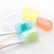 5pcs 여행용 칫솔 보관함 방수 항균기능 휴대용 미니 사이즈 용 세면용품 식품 등급 소재