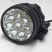 Linternas de Cabeza Luces para bicicleta LED 8000LM Lumens 3 Modo Cree XM-L U2 18650.0 Recargable Impermeable Visión nocturna