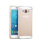Teléfono Móvil Samsung - Cobertor Posterior/Contra Golpes - Color Sólido/Acabado Metálico/Diseño Especial - para Samsung Galaxia A5 (