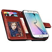 Teléfono Móvil Samsung - Carcasas de Cuerpo Completo - Color Sólido - para Samsung Samsung Galaxy S6 ( Negro/Blanco/Rojo/Marrón/Rosa ,