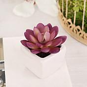 1 Rama Plástico Plantas Flor de Mesa Flores Artificiales 7 x 7 x 10(2.76'' x 2.76'' x 3.94'')