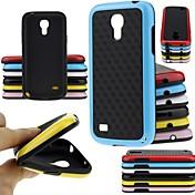caso grande doble suave de color de moda d para mini i9190 de Samsung Galaxy S4