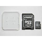 digital de 32 gb clase 10 micro sdhc originales kingston sd y de la tarjeta de memoria y la caja del adaptador de tarjeta de memoria