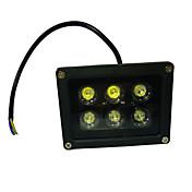 6W Focos LED Rotatoria 6 LED de Alta Potencia 660 lm UV (Luz Negra) AC 85-265 V 1 pieza