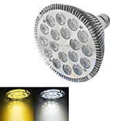 18W E26/E27 Focos LED 18 LED de Alta Potencia 1500-1600 lm Blanco Cálido / Blanco Fresco AC 100-240 V 1 pieza