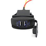 자동차 트럭 보트 액세서리 12V의 24V 듀얼 USB 충전기 전원 어댑터 콘센트 좋은에게