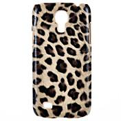patrón leapard SPIDER® magia caso duro volver con protector de pantalla para el mini i9190 Samsung Galaxy S4 (color clasificado)