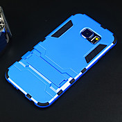 삼성 갤럭시 S6위한 받침대와 애플 하드 케이스 보호 커버