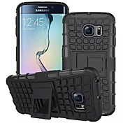 용 삼성 갤럭시 케이스 지갑 / 충격방지 / 스탠드 / 플립 케이스 뒷면 커버 케이스 갑옷 PC 용 Samsung S7 edge / S7 / S6 edge / S6 / S5 Mini / S5 / S4
