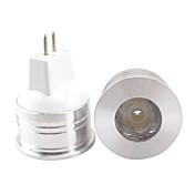 3W GU5.3(MR16) LED 스팟 조명 MR11 1 고성능 LED 350 lm 따뜻한 화이트 / 차가운 화이트 장식 DC 12 V 1개