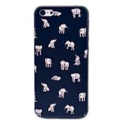 caso duro del patrón de la gente de elefante indio de 5c iphone