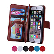 Luxury Multifunction 9 Card Holder Slots Wallet Flip Leather Stand Case For iPhone 7 7 Plus 6s 6 Plus SE 5s 5