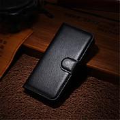 패션 가죽 먼지 방지 애플 아이폰 5 / 5S 카파 전화 케이스 플립 지갑 커버 케이스