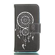 화이트 카드 슬롯 패턴 연인 우레탄 전신 경우 종소리와 아이폰 5c 스탠드
