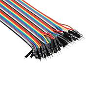 Cables Macho a Macho para Placa de Pruebas para Electrónica Do-It-Yourself 22cms