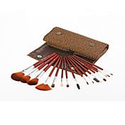 15Cepillo de Cejas (Redondo) / Pestaña Brush / Cepillo Corrector / Pincel Abanico / Cepillo para Polvos / Cepillo para Base / Otros
