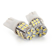 2 * T10 (30)는 3014 SMD 흰색 자동차 쐐기 측면 번호판 전구 LED 램프