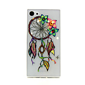 Dreamcatcher Pattern TPU Relief Back Cover Case for Sony Z5mini
