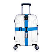 1개 여행가방 끈/스트랩 코드 자물쇠 견고함 조절 가능 용 수화물 악세사리오렌지 퍼플 그린 블루 핑크