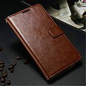 용 Samsung Galaxy Note 지갑 / 카드 홀더 / 스탠드 / 플립 케이스 풀 바디 케이스 단색 인조 가죽 Samsung Note 3