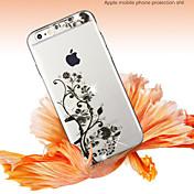 아이폰 6에 대한 내부 다이아몬드 초박형 고급 부드러운 TPU 소프트 케이스 플러스 / 6S 플러스 (모듬 색상)